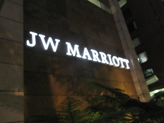 JW Marriott Hotel Bogota : Hotel front