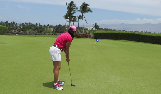 Mauna Lani Resort Golf Club: The wind here is always blowing.