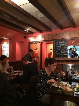 Chez kako: the busy restaurant