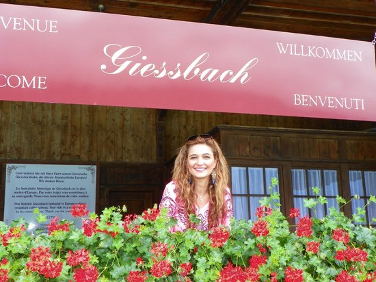 Grandhotel Giessbach: By the lake !