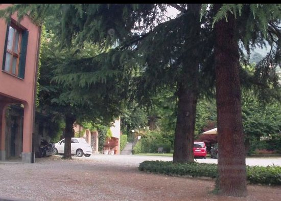 Cernobbio Residence: Дворик отеля