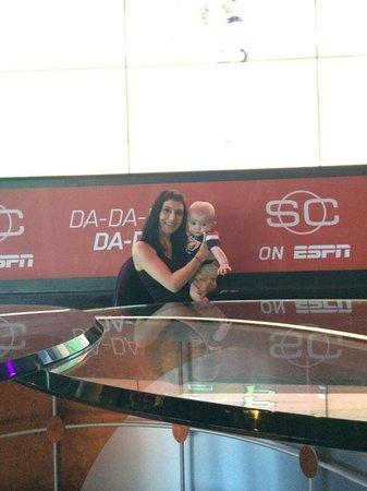 ESPN Club : Enjoying espn with my son