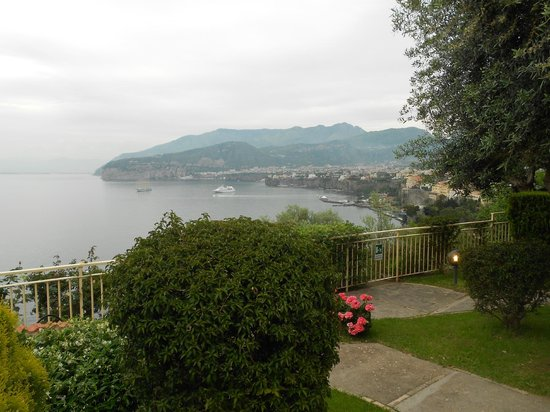 Hotel Residence Miramare: view from room terrace
