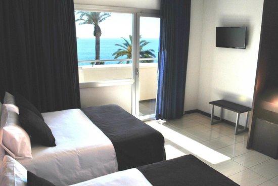 Hotel Excelsior: Doble Vista Mar