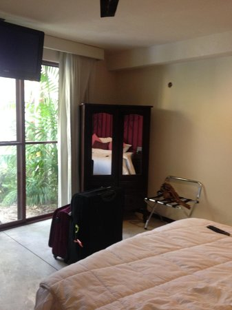 Koox Art 57 Boutique Hotel: Room with patio (small rooms don't have a patio)