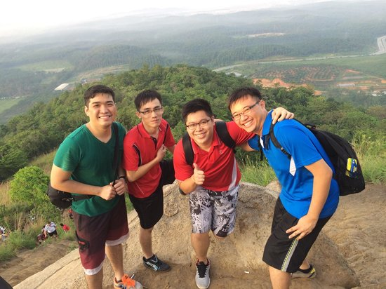 Bukit Broga Hill: Exhausted looks
