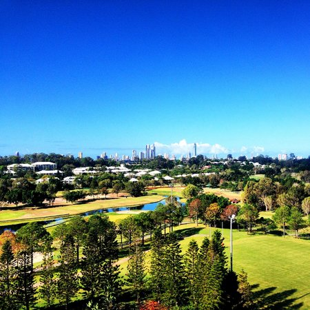 RACV Royal Pines Resort : View from our room