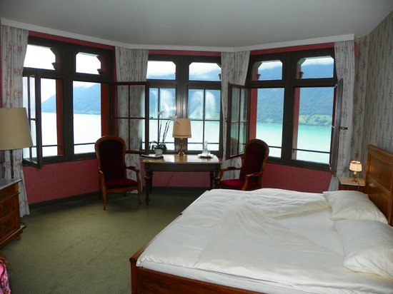 Grandhotel Giessbach: The best room with lake view !