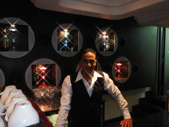Premier Romance Boutique Hotel and Spa: Adham the Barman