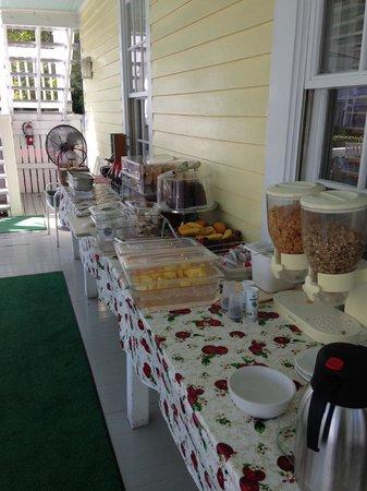 Duval Gardens : Café da Manhã