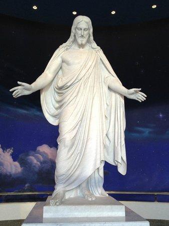 "Temple Square : ""Christus"" inside Visitor's Center"