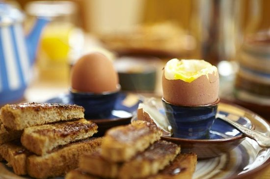 The Waves: Boiled Eggs and Buttered Soldiers