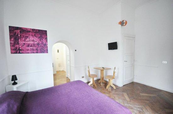 Residenza Le Rose Villa d'Arte: Double room deluxe