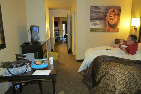 Kalahari Resorts & Conventions: 2 bedroom suite