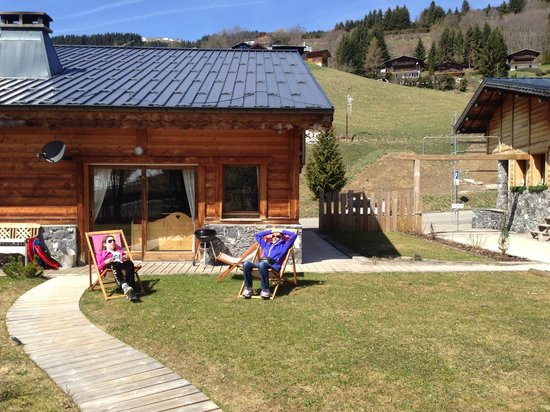 Chalet Martinet : chilling in the sun
