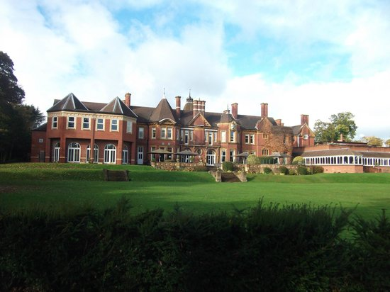 Moor Hall Hotel & Spa, BW Premier Collection: hotel from grounds