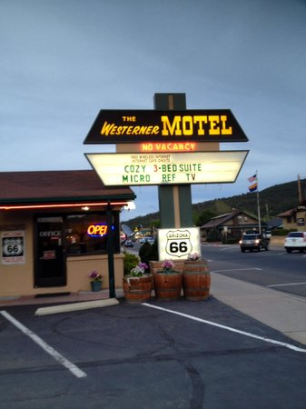 Westerner Motel: Best little town in the west. 2 miles long to be exact