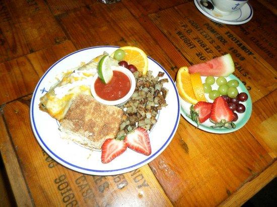 Historic Anchor Inn : Breakfast. Delicious!