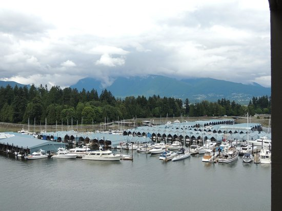The Westin Bayshore, Vancouver: View from room1