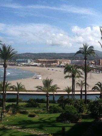 Parador de Jávea: el Arenal beach from javea parador