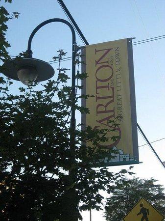 Carlton Sign