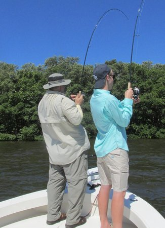 Gone Fishing Charters: Me and Son Double Header