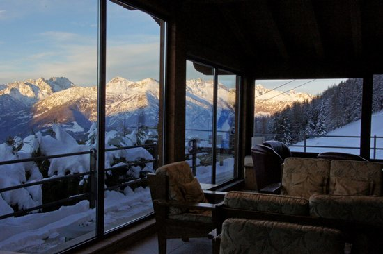 Hotel Lion Noir: Panorama from lounge