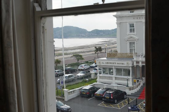Ambassador Hotel: View from partial sea view room