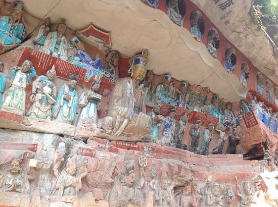 The Dazu Rock Carvings: Beautiful carvings