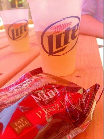 Miller Brewery Tour : 第一款酒miller light