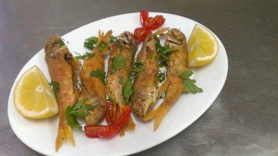 Aigaio Pelagos Restaurant: Fresh fish... Catch of the day!