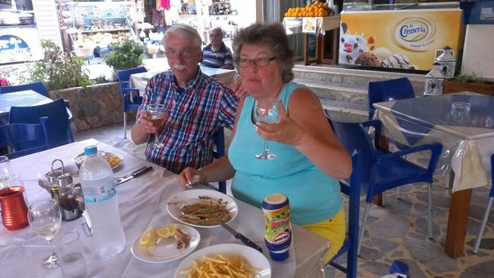 Aigaio Pelagos Restaurant: We are going to miss you...