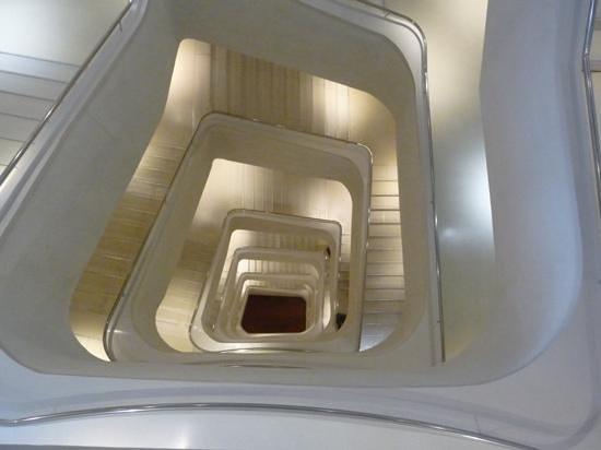 CaixaForum: Caixa Forum stairwell