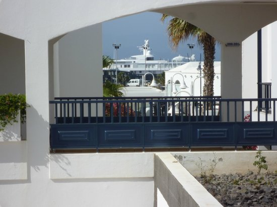 Pueblo Marinero: From our balcony towards the Marina