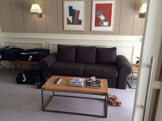 Majestic Hotel & Spa Barcelona : Junior Suite Lounge