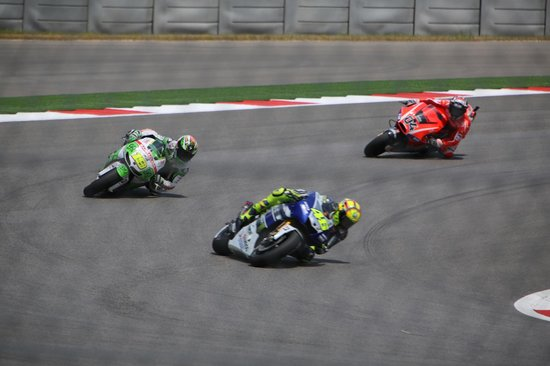 Circuit of The Americas: Rossi, Dovi, Bautista