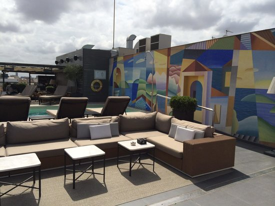 Majestic Hotel & Spa Barcelona: Roof Bar & Pool
