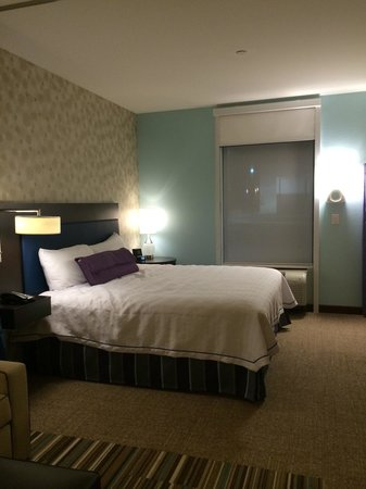 Home2 Suites by Hilton Fargo: Studio suite w/ comfy king bed!