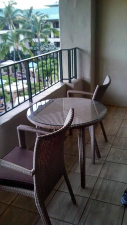Grand Hyatt Kauai Resort & Spa : Our rooms lanai.