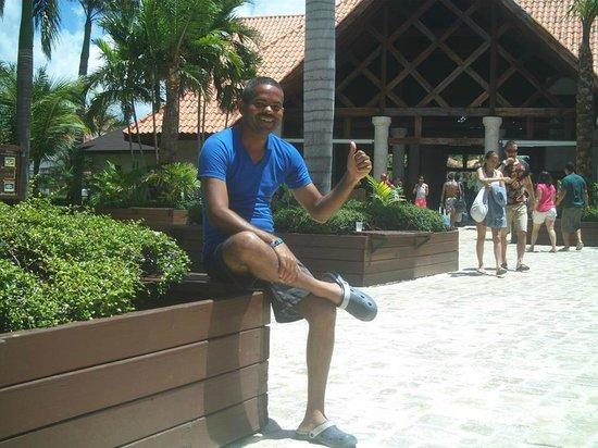 IFA Villas Bavaro Resort & Spa: Turista dominicano en  IFA Villas Bávaro IFA Villas Bávaro Resort y Spa