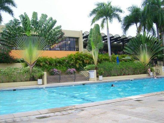 Mayaguez Resort & Casino: 1st pool area
