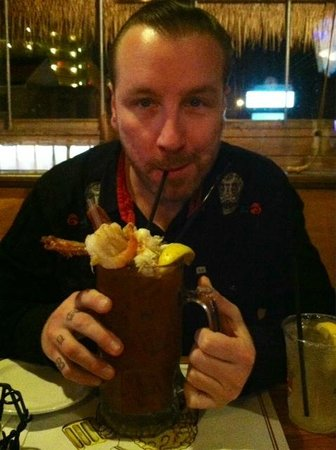 The Original Crabcake Factory: awesome Bloody Mary!