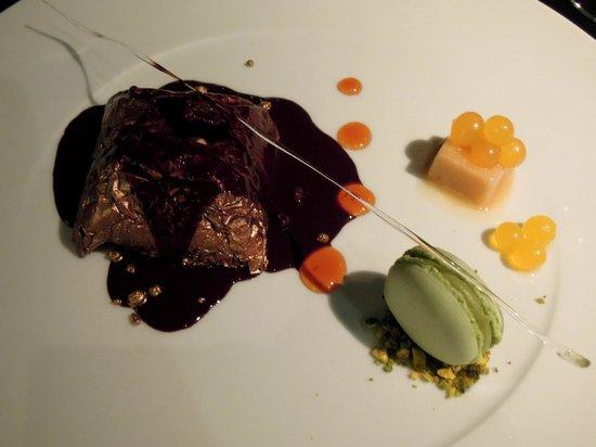 Aureole Restaurant: delicious dessert