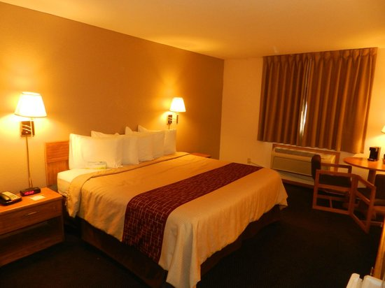 Days Inn Le Roy/Bloomington Southeast: King Bed Room