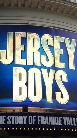 Jersey Boys London : Amazing!!!!