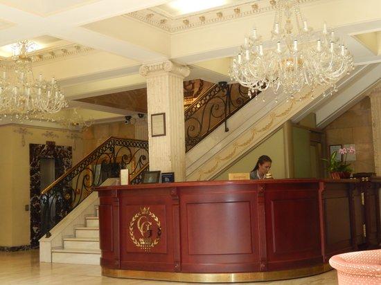 Author Boutique Hotel: Reception