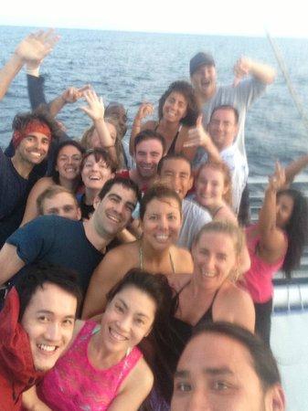 Kauai Sea Tours: Crew and Guests Selfie