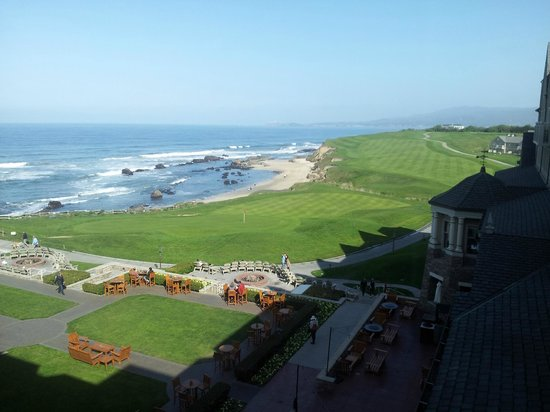 The Ritz-Carlton, Half Moon Bay : Breakfast view from the Lounge