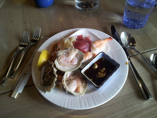 The Ritz-Carlton, Half Moon Bay : For starters at the Navio of our Sunday brunch