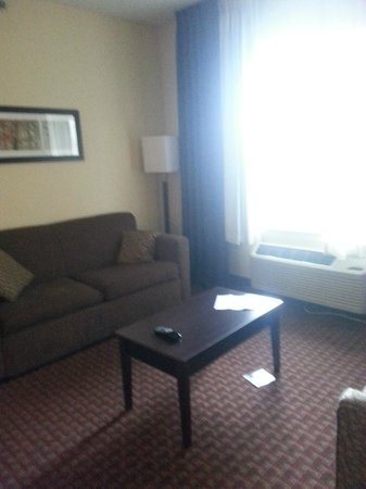 Comfort Suites Fort Wayne: Lounge Area by the Window